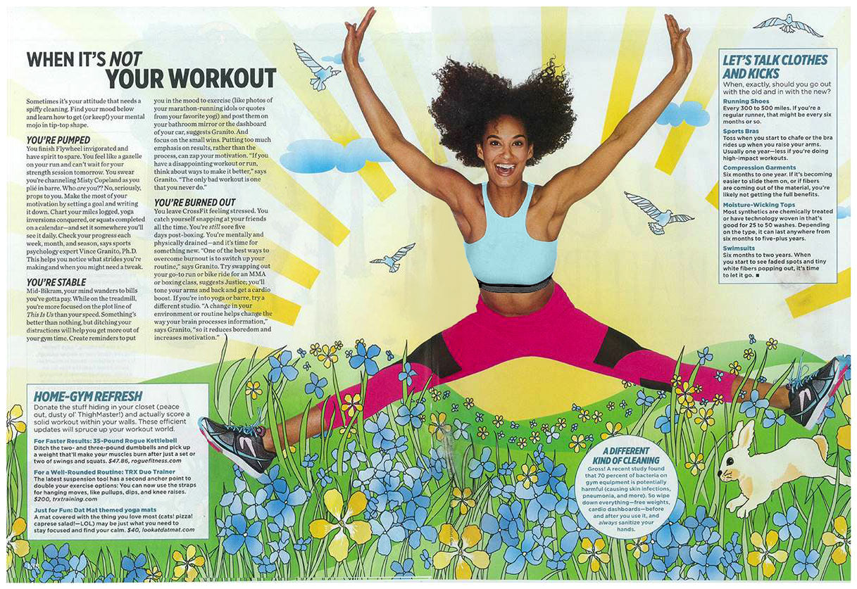 Women's Health April 2017