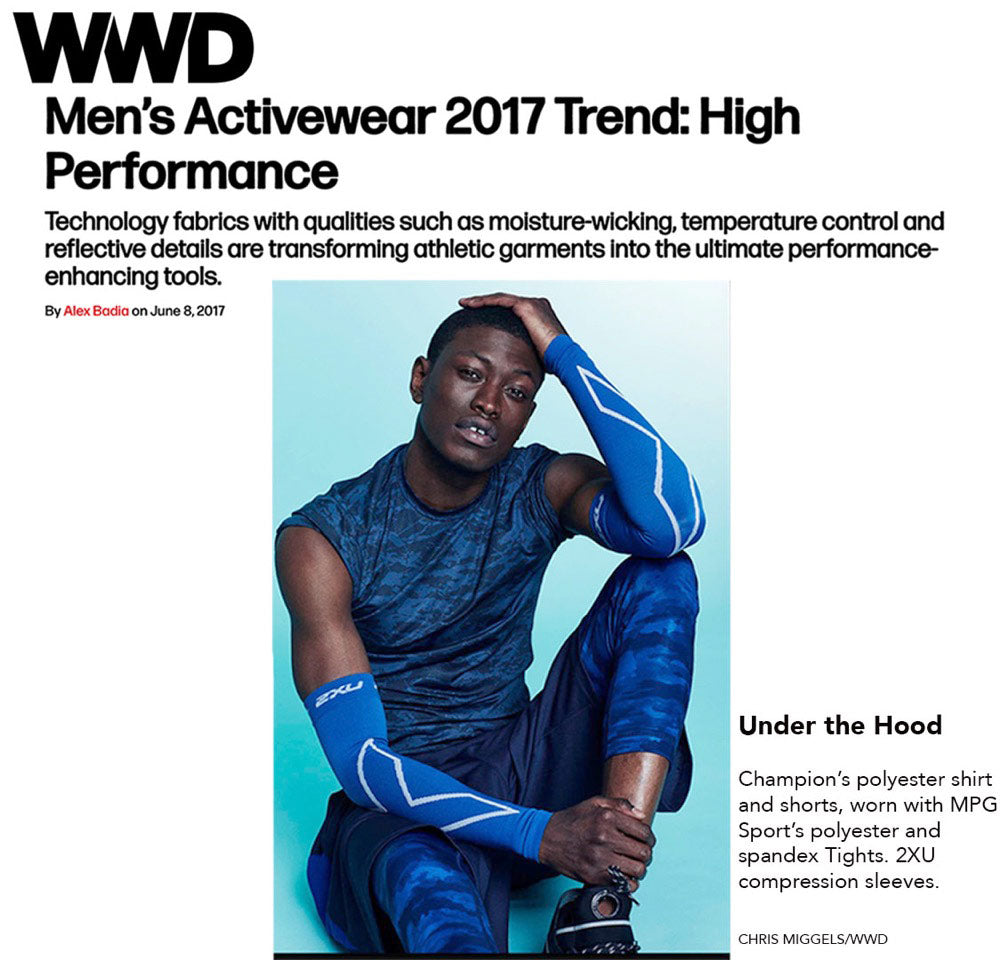 WWD Men's Activewear 2017