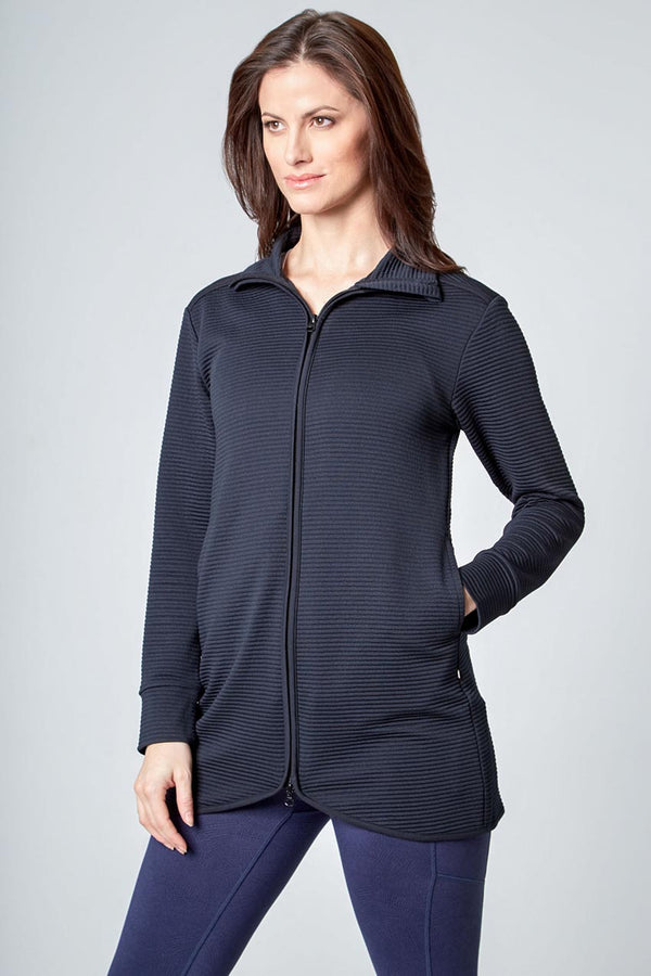 Mondetta women's Ladies Ottoman Jacket in Black