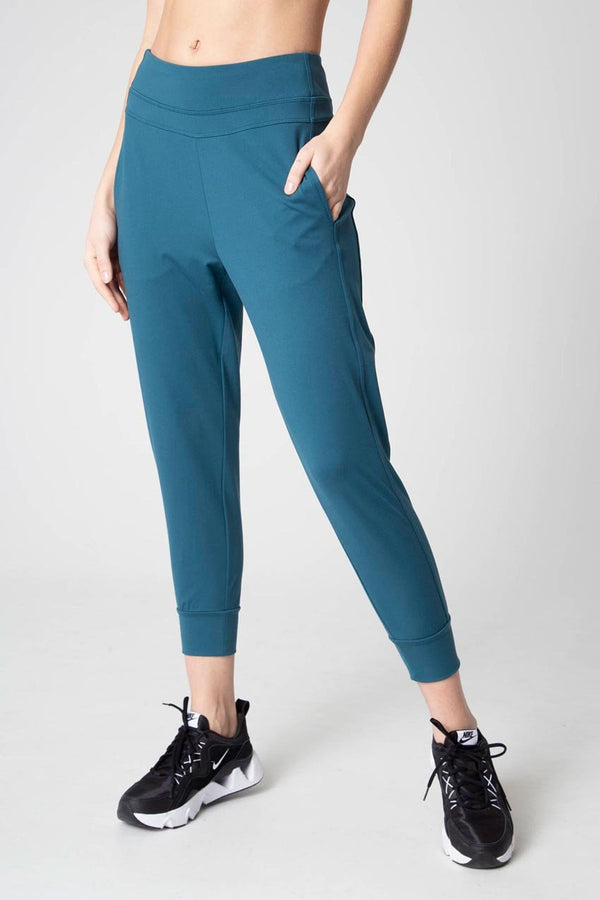 Mondetta women's Ecofriendly Cozy Jogger in Deep Teal