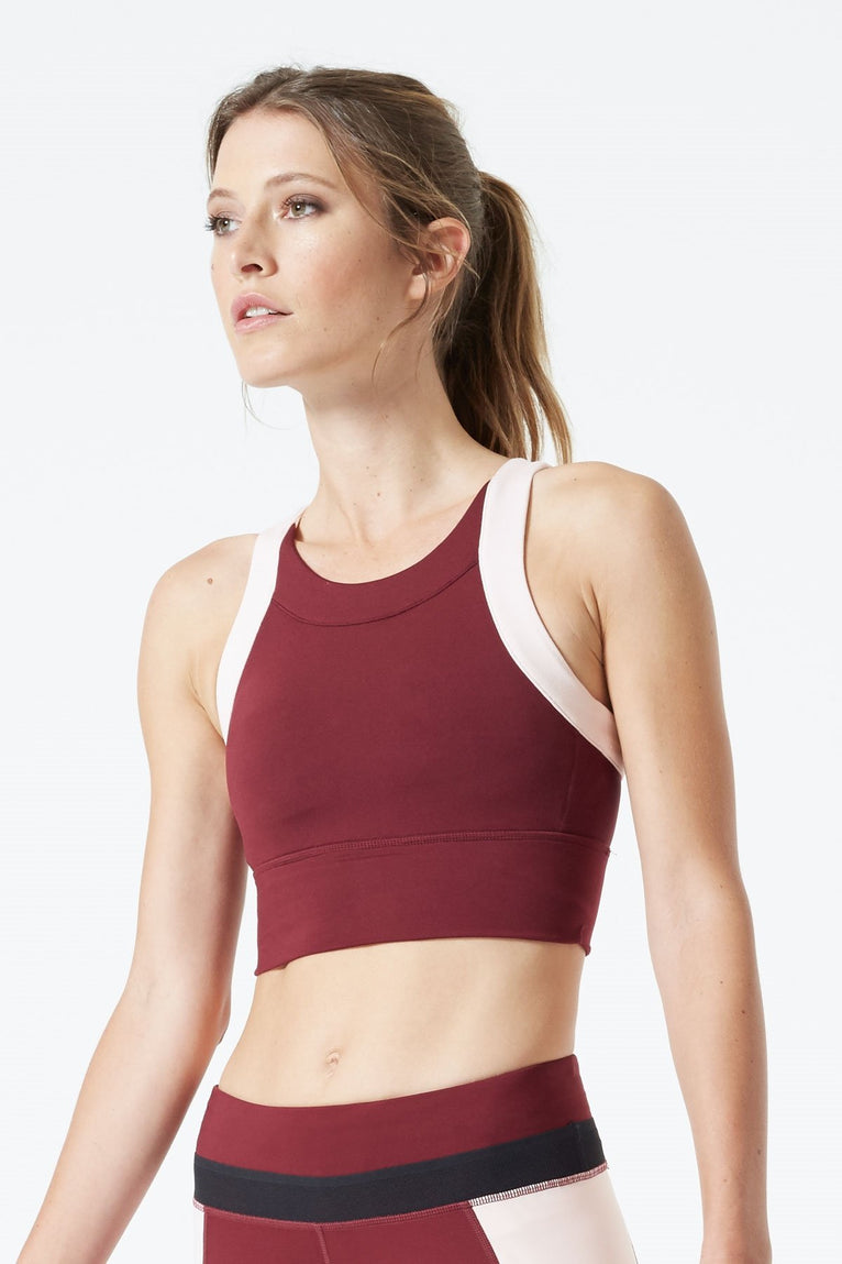 Avion Medium Support High Neck Bra