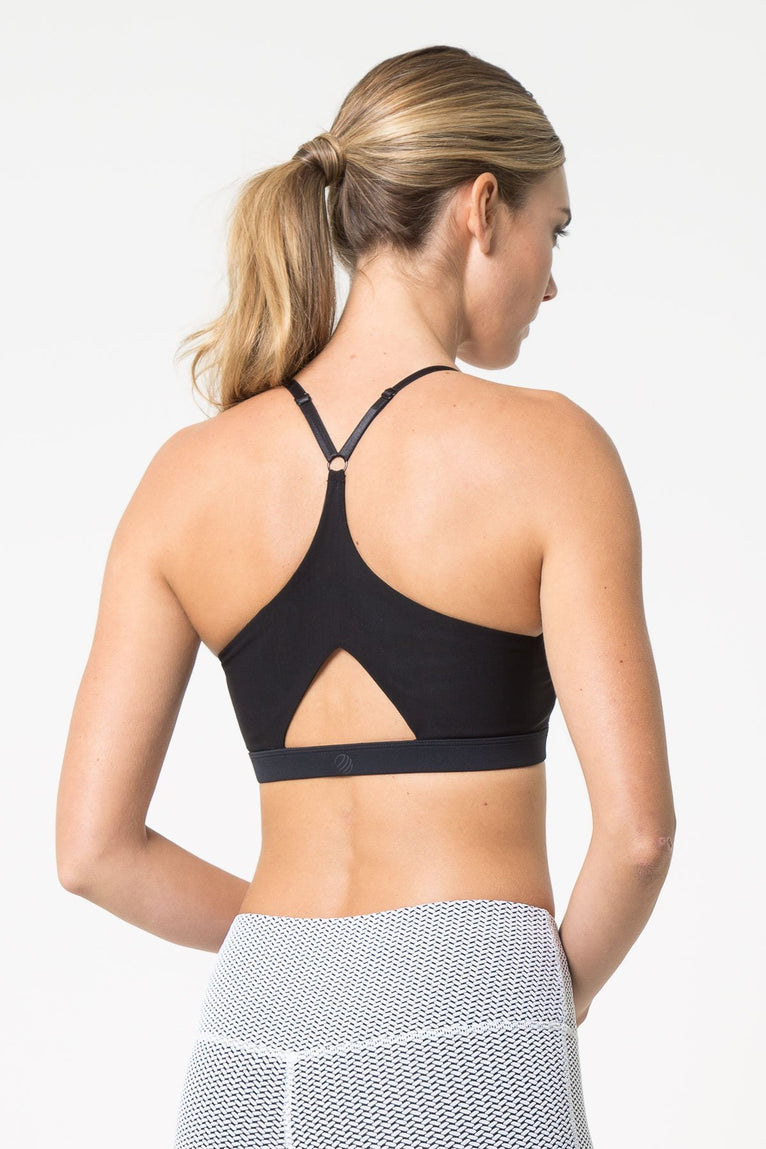 Captivate Perforated Light Support Bra