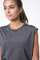 Swiftly Silver Thread Tee