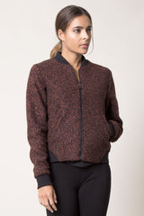 Socialite Active Tweed Bomber