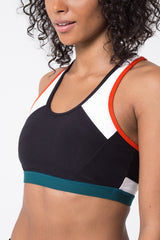Divine Color Block Medium Support Bra