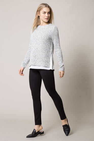 Flurry Stretch Wool Sweater