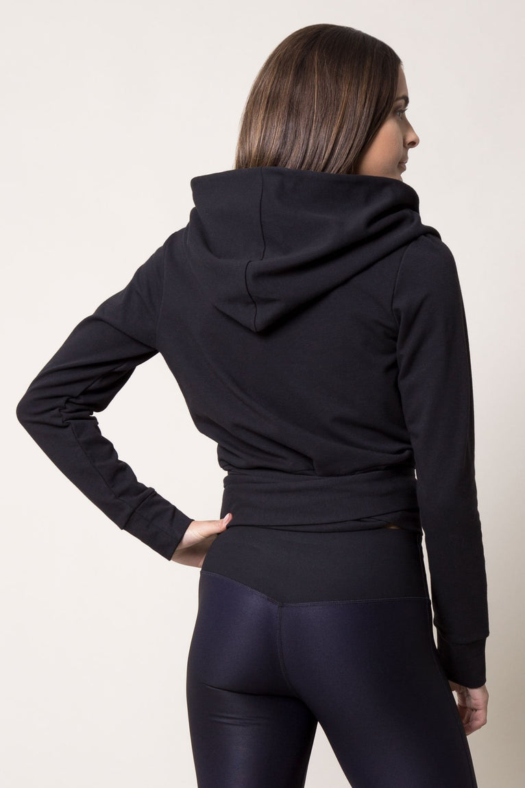 Enfold Luxe Hooded Wrap
