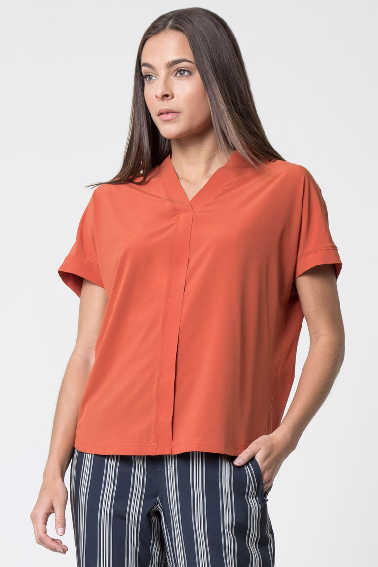 Attitude Elevated V-Neck Top