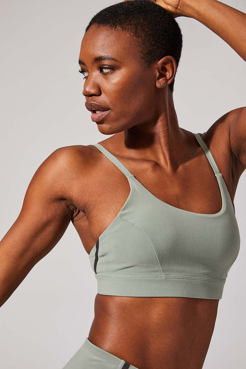 Impulse Recycled Polyester Light Support Bra by MPG Sport