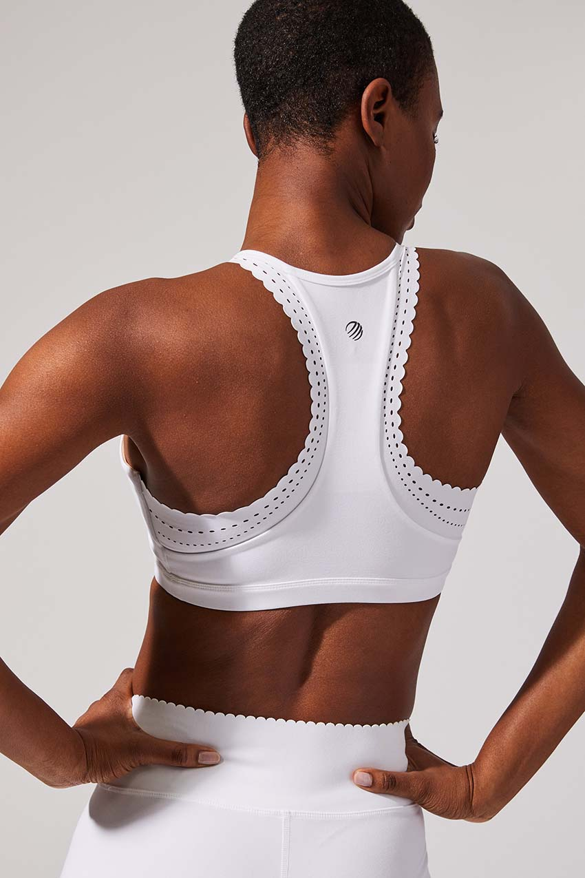 Exhilarate Recycled Polyester Medium Support Bra by MPG Sport