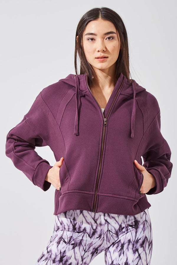 Aspire Recycled Organic Cotton Cropped Hoodie