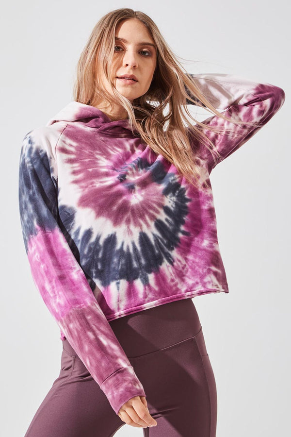 Vision Hooded Tie-Dye Sweatshirt