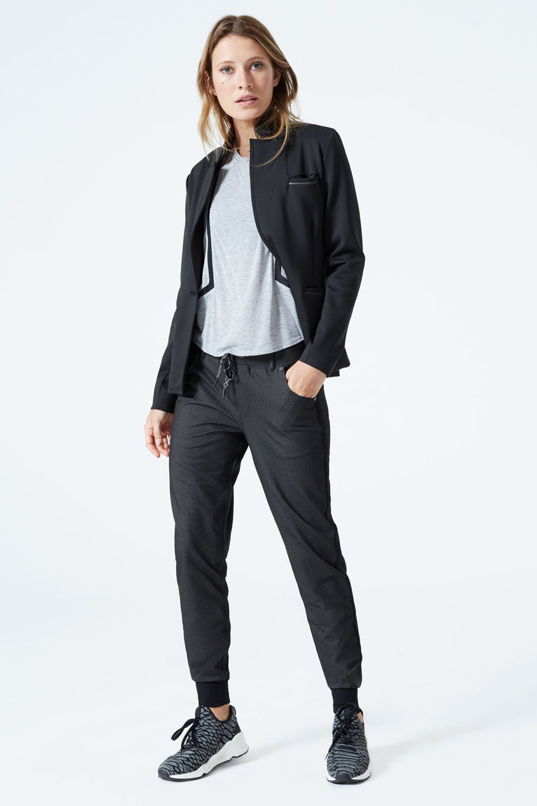 Rivet Denim-Look Boyfriend Jogger