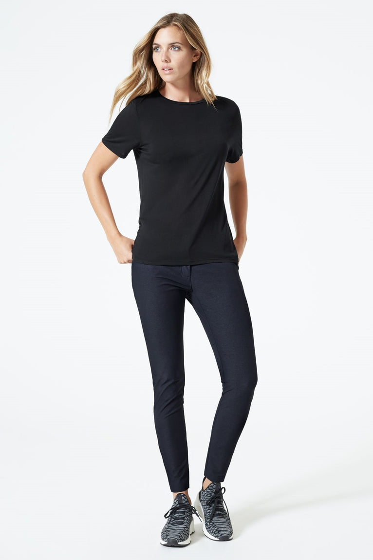 Bexley Denim-Look Skinny Pant