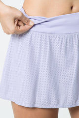 Tart Perforated Skort
