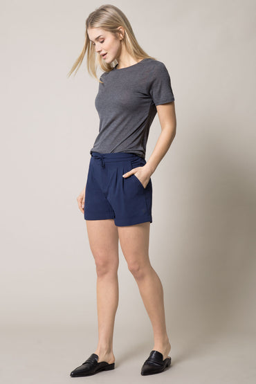 Phoenix Pleated Stretch Short