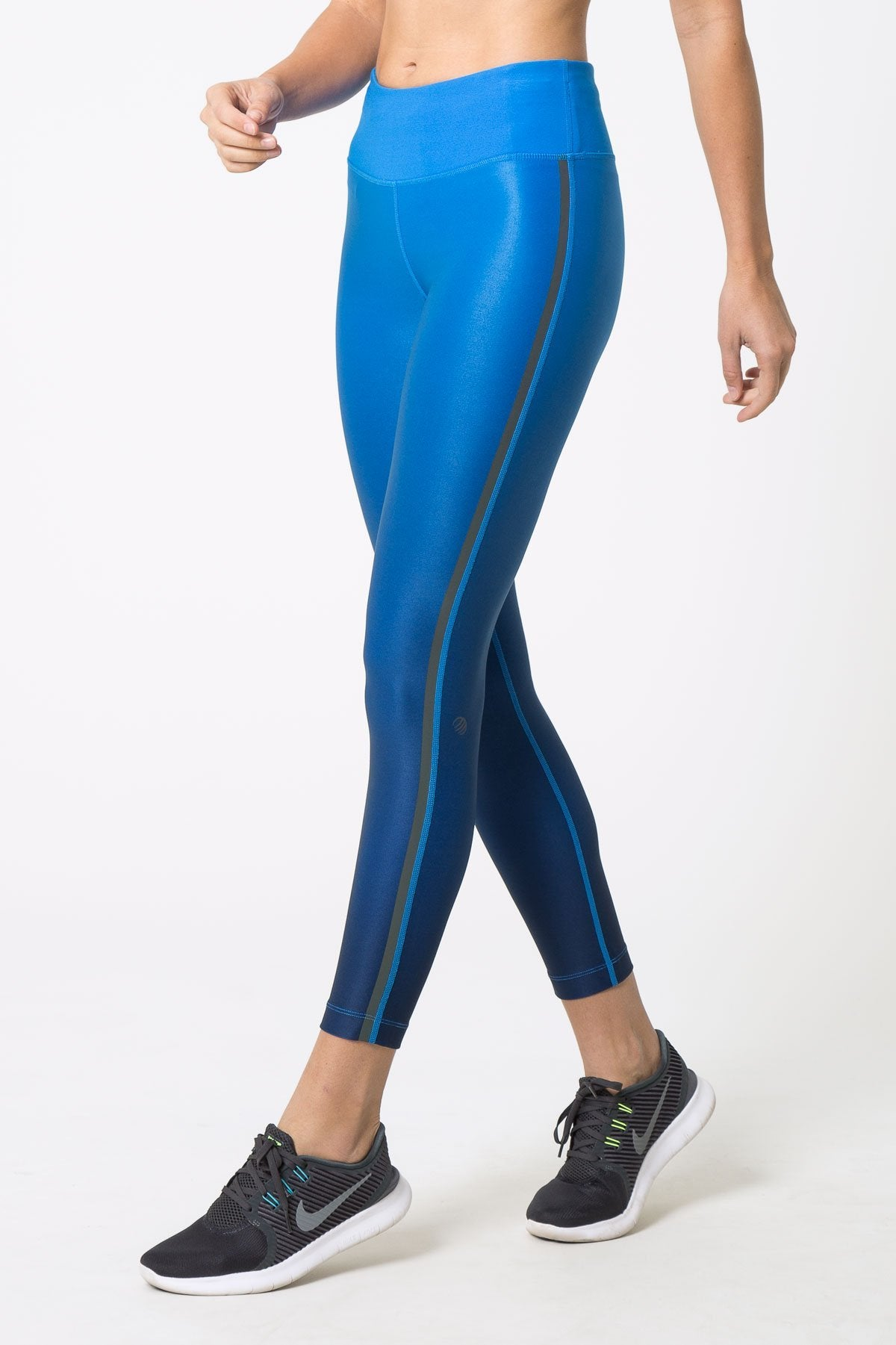 Misty Iridescent Ombre 7/8 leggings by MPG Sport