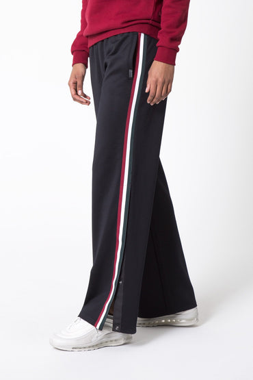 Track Side Snap Button Pant
