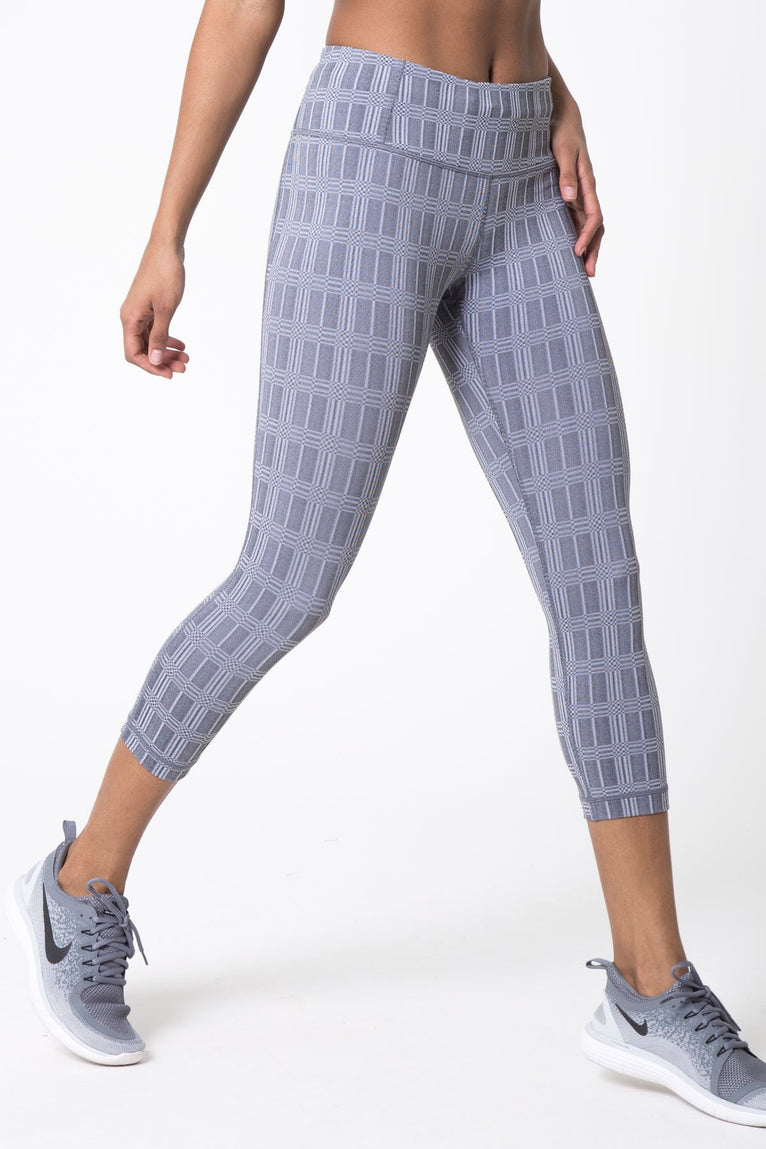 Dare Signature Modern Plaid Capri