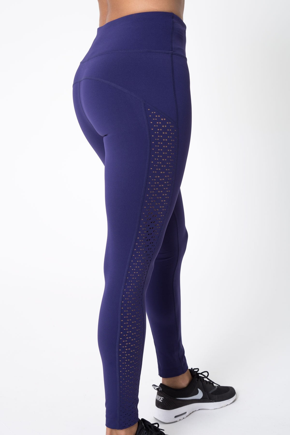 9444ca8552133 Haven 7/8 High Waisted Laser Cut Legging – MPG Sport USA