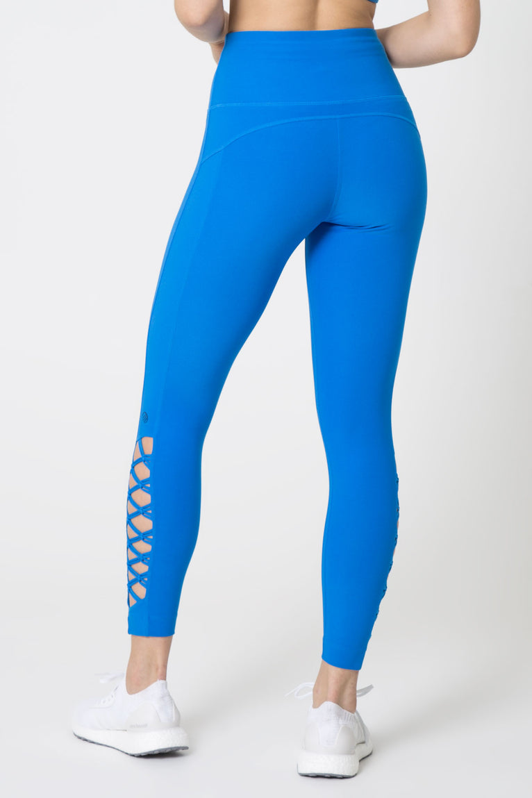 Interlace Macrame-Look Lattice 7/8 Legging