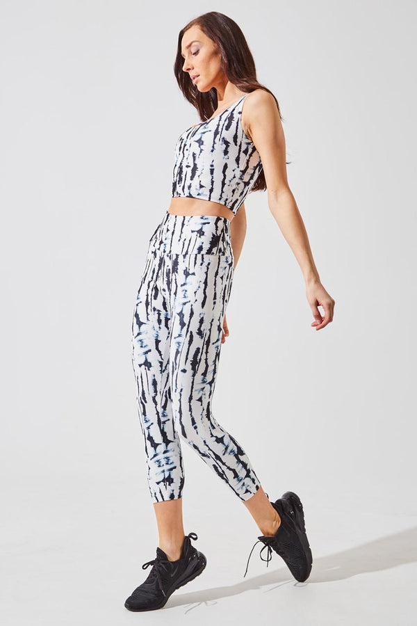 Illuminate High Waisted Recycled Polyester Capri