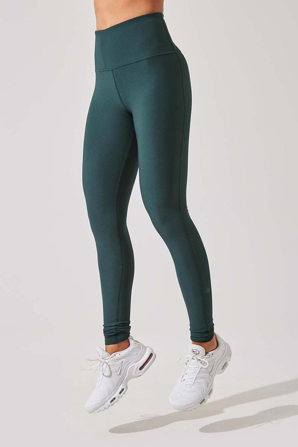 MPG Sport women's Rapid High Waisted Recycled Polyester Legging - Sale in Emerald