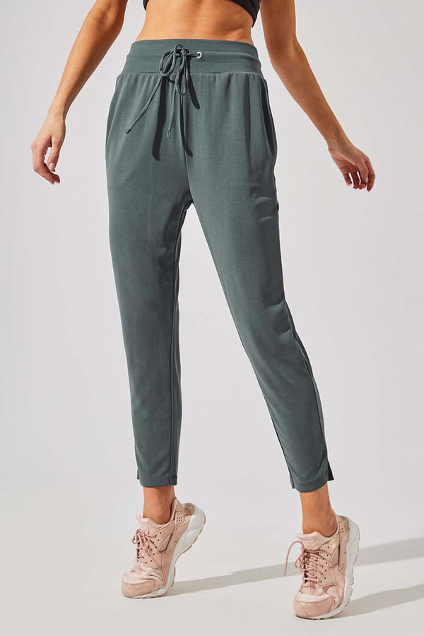 MPG Sport women's Recover Natural Modal Relaxed Pant in Dark Sage