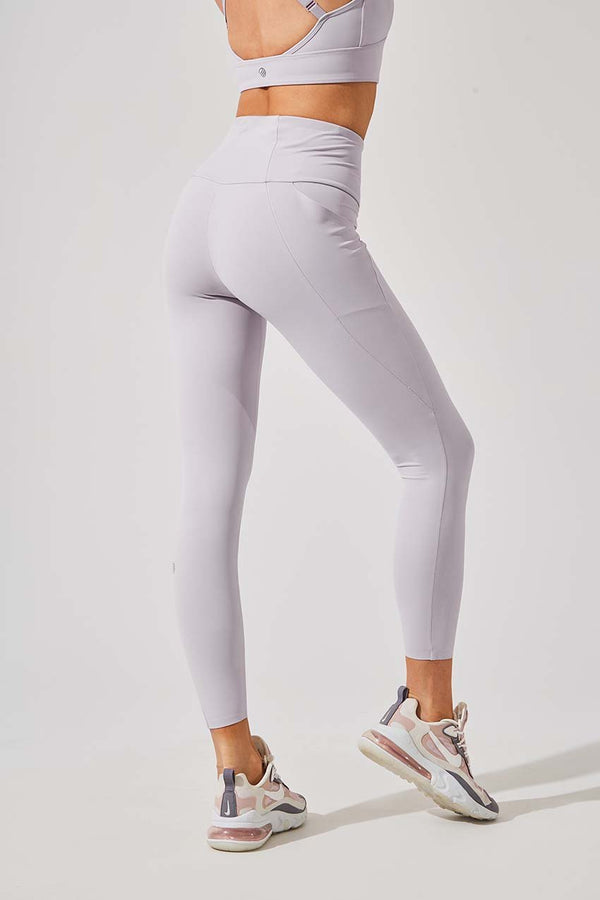 Down Dog High Waisted Recycled Nylon 7/8 Legging