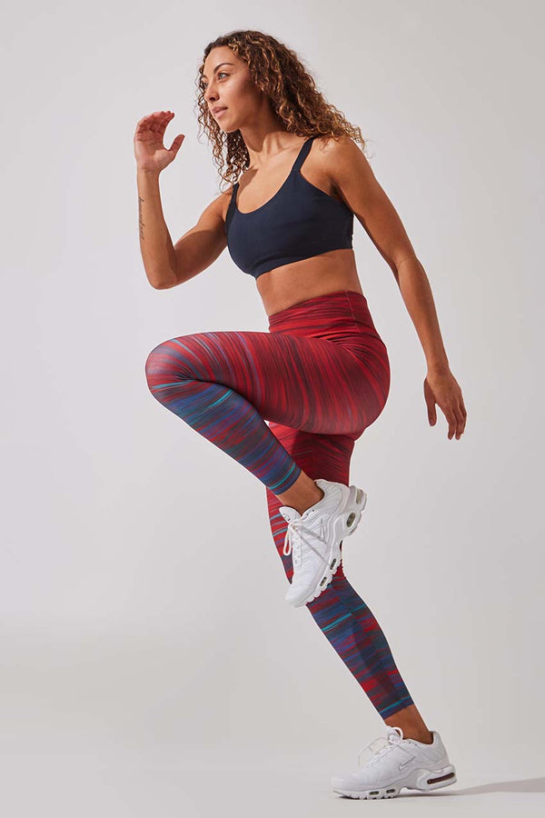 Strive High Waisted 7/8 Printed Legging