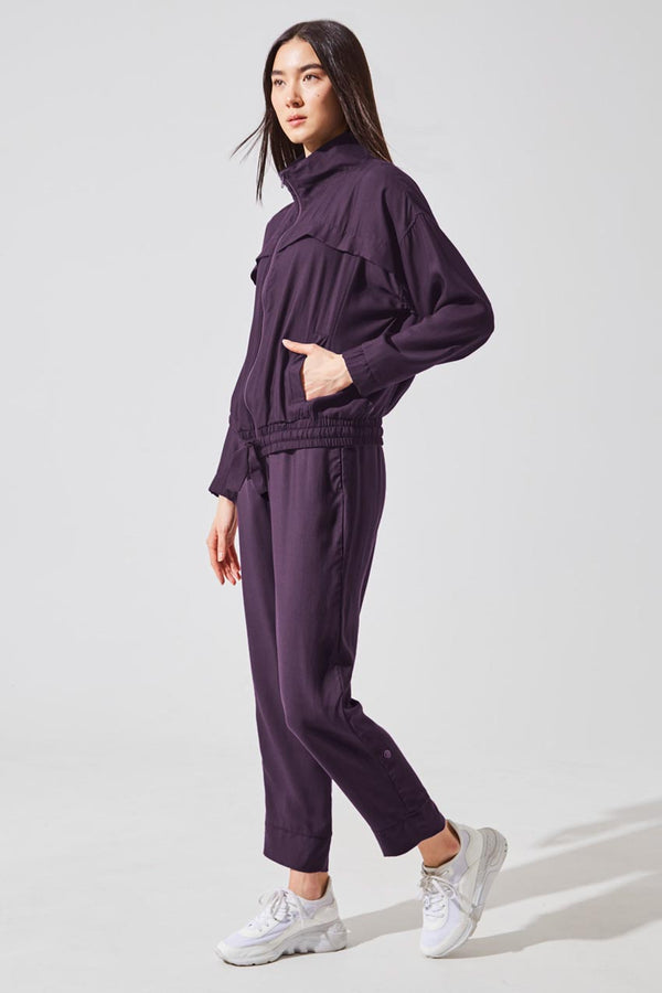 Crosstown Lenzing™ Lyocell Relaxed Pleated Pant