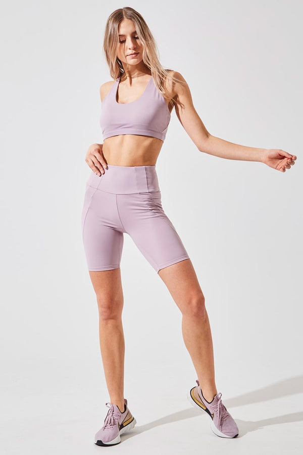 Rider Ultra-High Waisted Recycled Nylon Biker Short