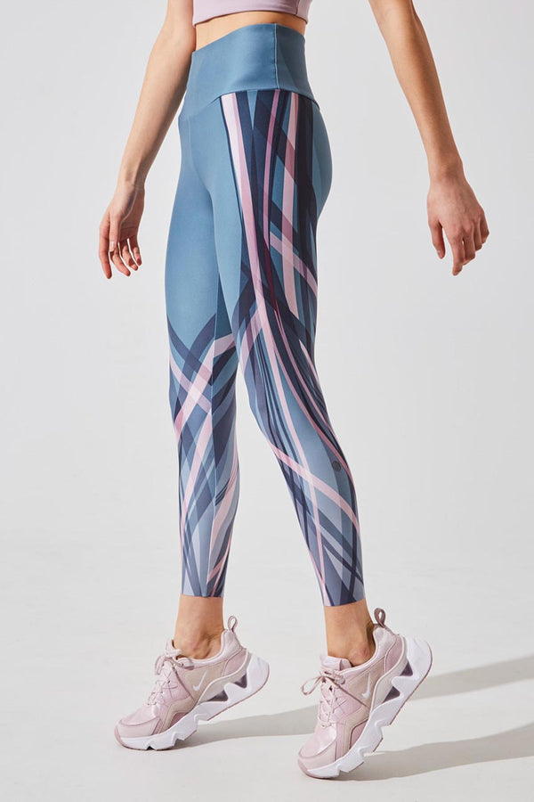 Strive Recycled Polyester High Waisted 7/8 Printed Legging