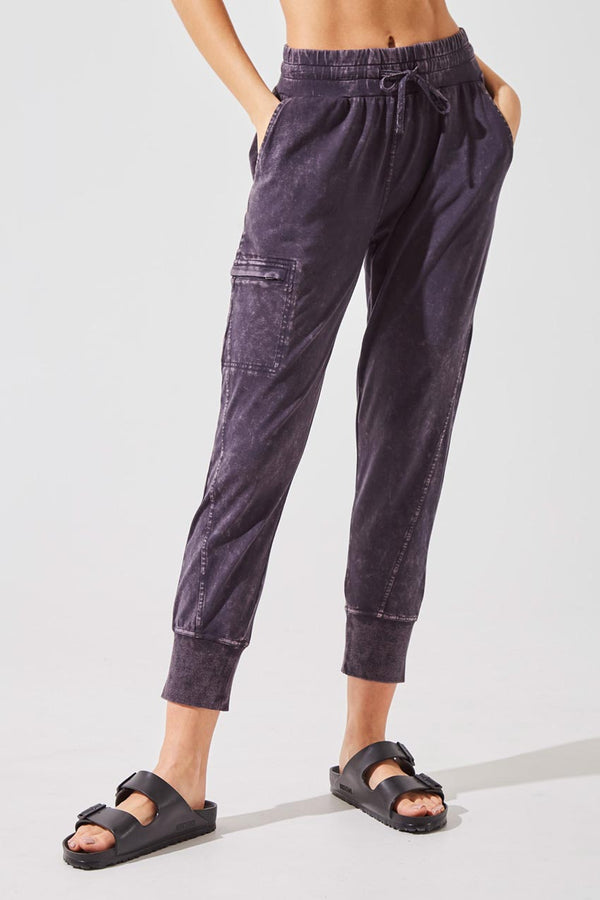 MPG Sport women's Meridian Relaxed Jogger in Charcoal