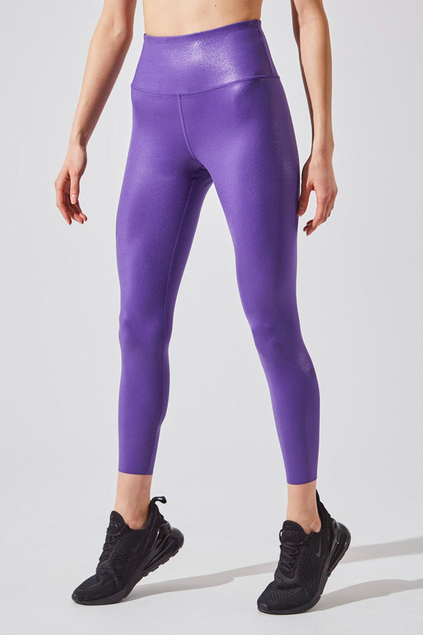 MPG Sport women's Endurance High Waisted 7/8 Legging in Ultra Violet