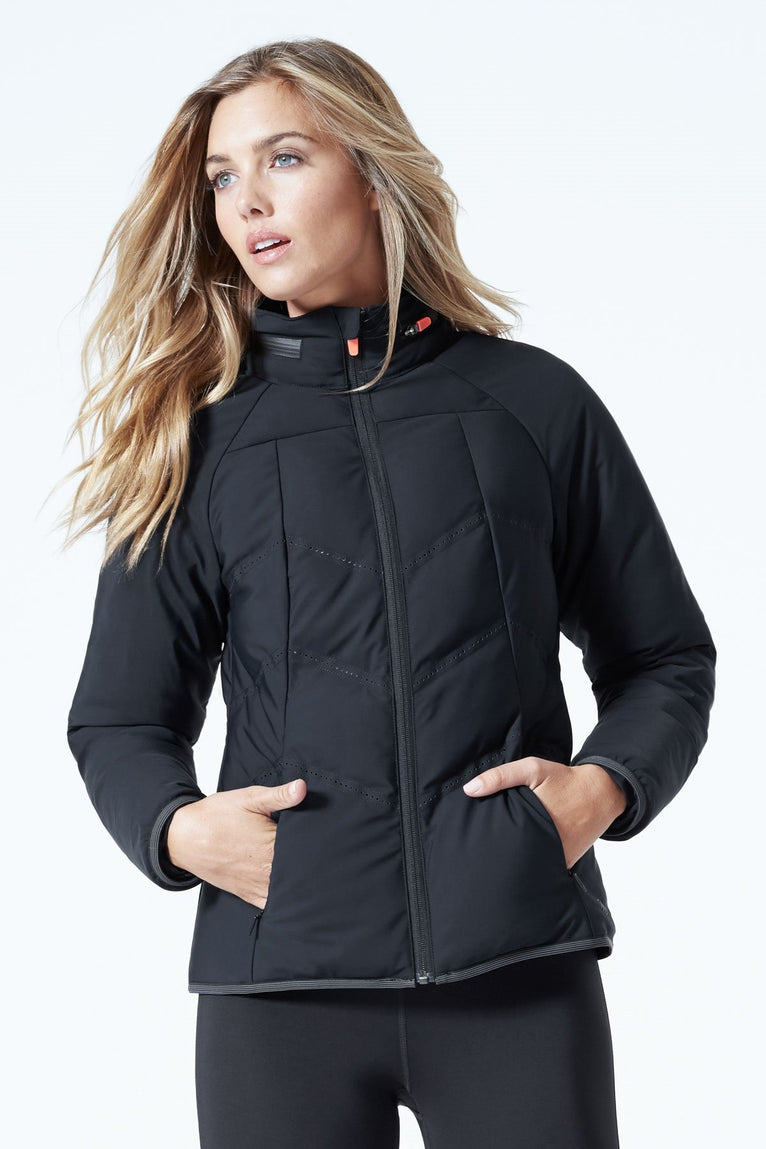 Elevation Full Zip Insulated Run Jacket