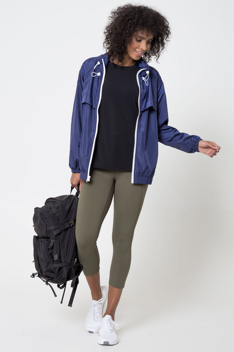 Jetsetter Oversized Windbreaker