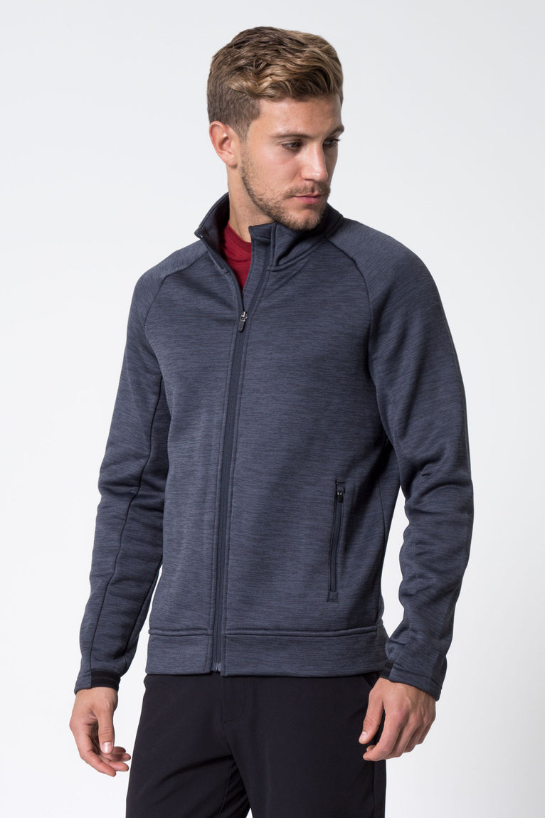 Academy 2.0 Fleece Zip-Up Sweater