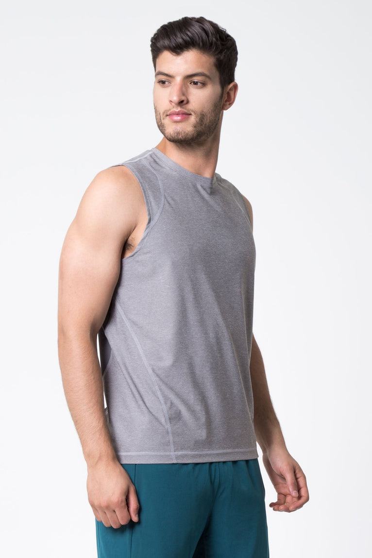 After Dark Mesh Back Sleeveless Tank
