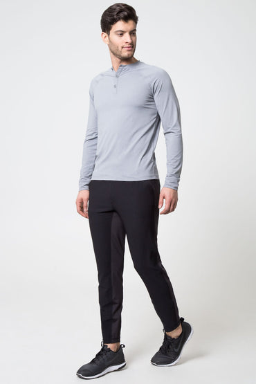 Hot Shot Stink-Free Long Sleeve Henley