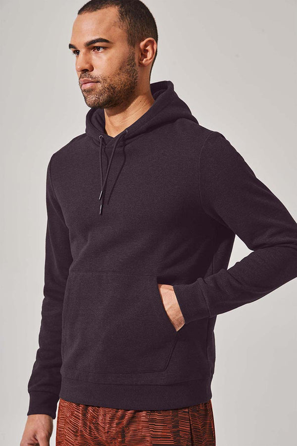 MPG Sport men's Drive Recycled Organic Cotton Hoodie in Black