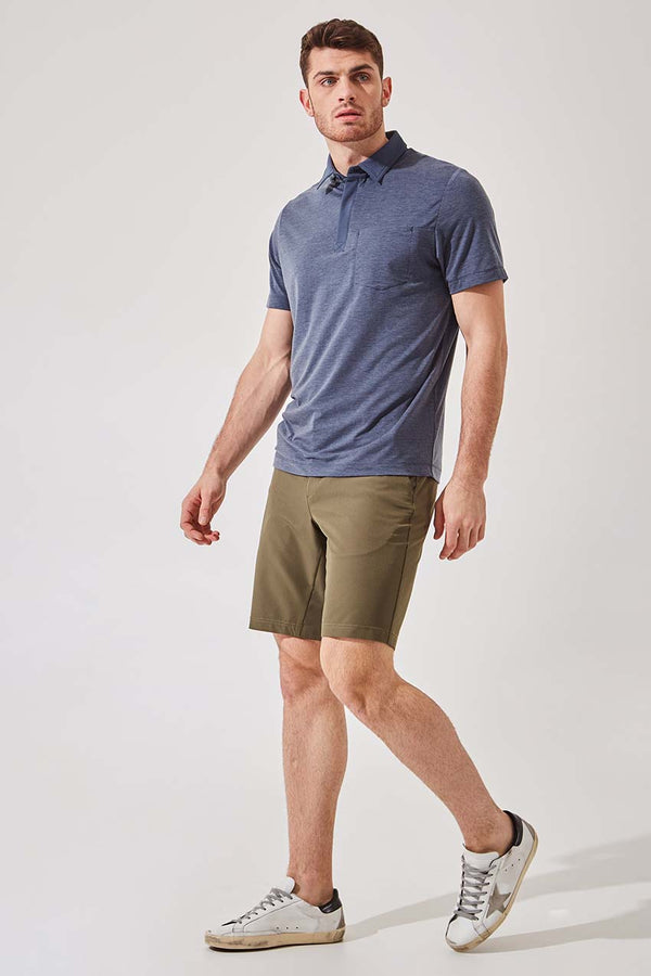 Detour 2.0 Lyocell Blend Short Sleeve Polo