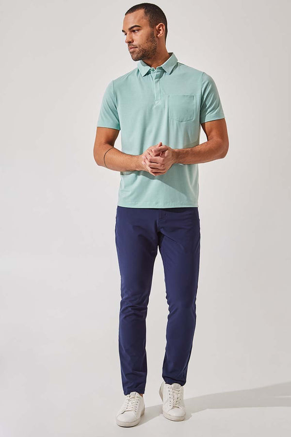 Detour 2.0 Lyocell Blend Short Sleeve Polo - Sale
