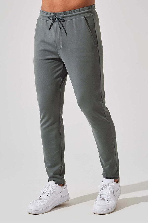 MPG Sport men's Covert Recycled Polyester Slim Leg Pant in Sage