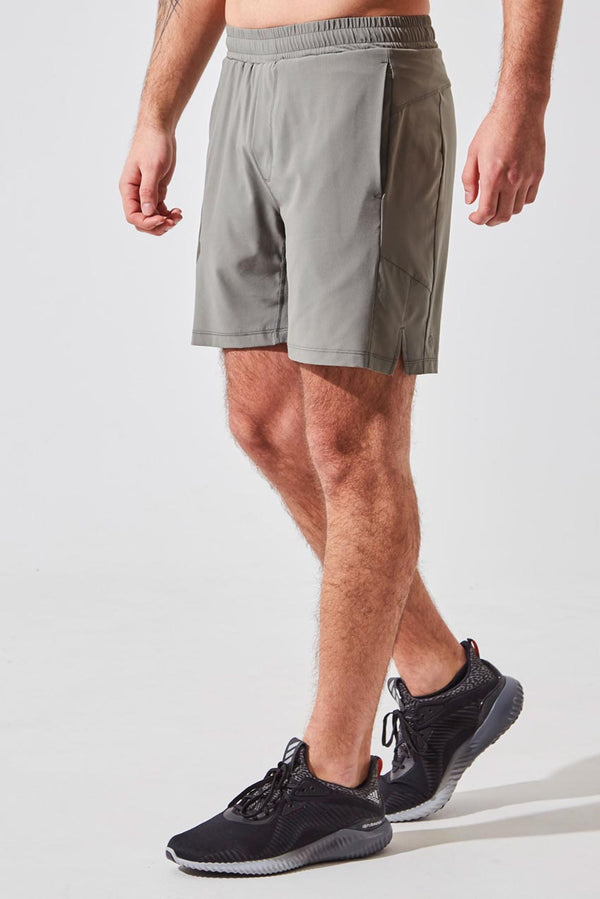 "MPG Sport men's NHL Captain Blake Wheeler collection Catch 7"" Sustainable Short with Liner in Desert Sage"
