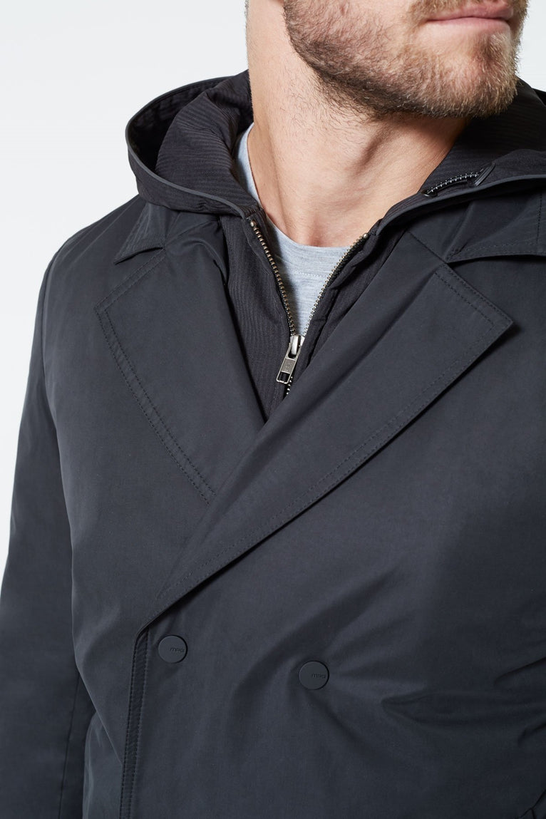 Lincoln Convertible Tech Peacoat