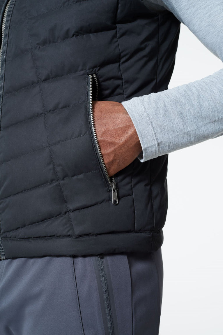 Crusade Down Filled Quilted Vest