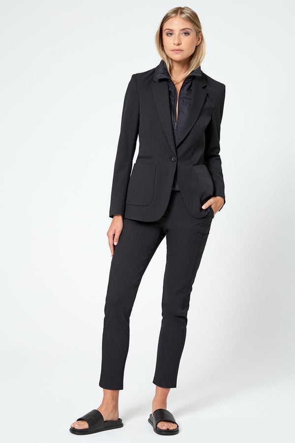 Visionary Twill Blazer With Removable Fooler