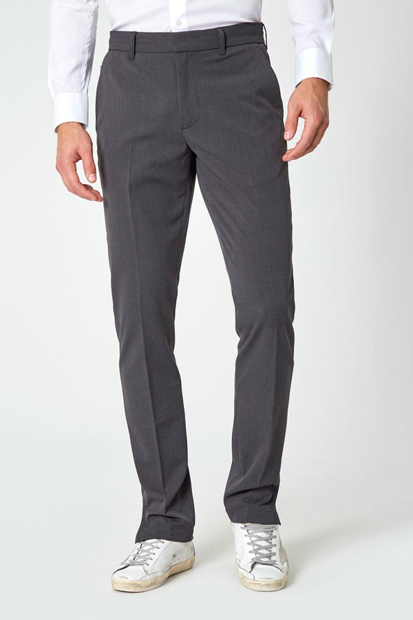 Modern Ambition work-ready men's Take Charge Twill Pant in Wayward Grey