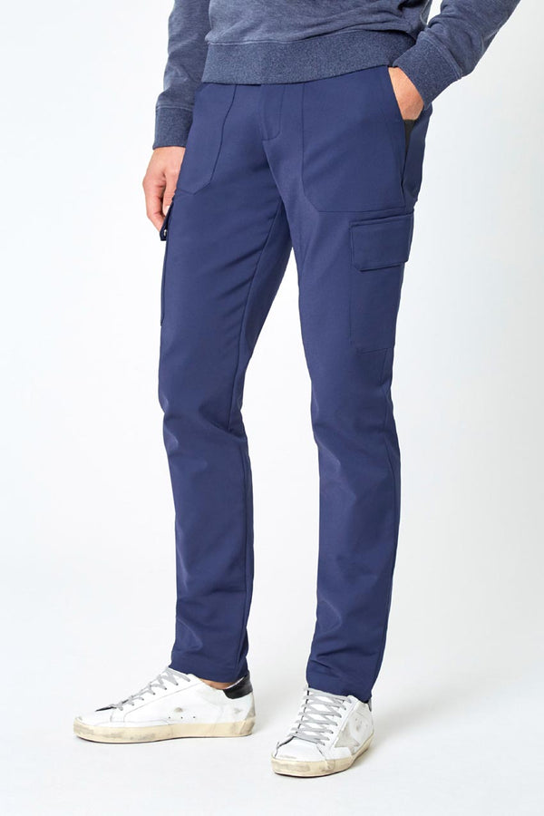 Modern Ambition work-ready men's Spearhead Cargo Pant in Navy Blue